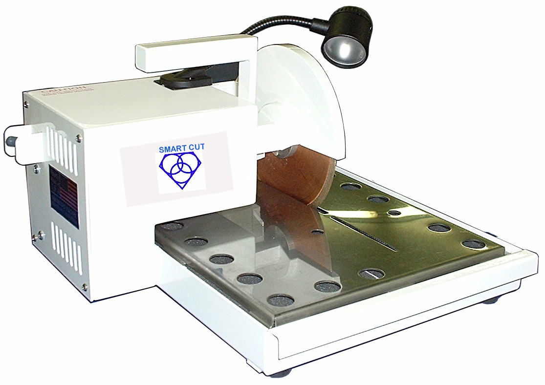 Diamond Saws, for Industry, R & D, and Sample Preperation - SMART CUT
